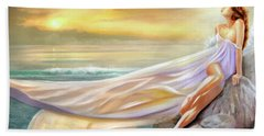 Rapture In Midst Of The Sea Beach Towel by Michael Rock