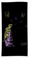 Rapunzel's Magic Flower Braid Beach Towel