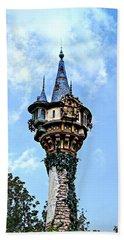 Rapunzel's Tower Beach Sheet