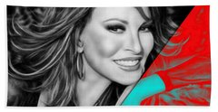 Raquel Welch Collection Beach Towel by Marvin Blaine