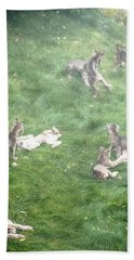Play Together Prey Together Beach Towel