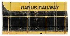 Rarus Railway Beach Towel