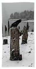 Raven Call Beach Towel