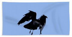 Raven Flight Beach Towel