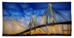 Ravenel At Dusk Beach Towel