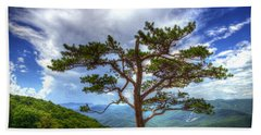 Ravens Roost Tree Beach Sheet