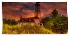 Rawley Point Lighthouse Beach Sheet