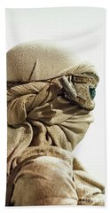 Beach Towel featuring the photograph Ray From The Force Awakens by Micah May