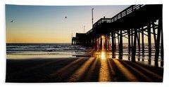 Rays Of Evening Beach Towel