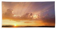 Rays Of Hope Beach Sheet
