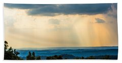 Beach Towel featuring the photograph Rays Of Nature by Parker Cunningham