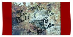 Wild Boars Beach Sheet by Larry Campbell