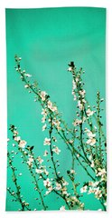 Reach - Botanical Wall Art Beach Sheet by Melanie Alexandra Price