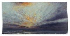 Reaching Higher Beach Sheet by Valerie Travers