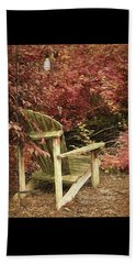 Reading Nook Beach Towel