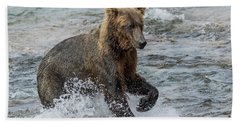 Ready For Action  Beach Towel