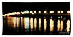 Bridge Of Lions -  Old City Lights Beach Towel