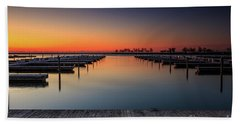 Ready To Dock Beach Towel