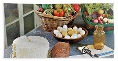 Real Food Beach Sheet