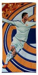 Real Madrid Painting Beach Towel