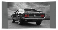 Rear Of The Year - '69 Mustang Beach Towel