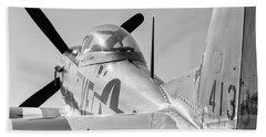 Rebel Steed - 2017 Christopher Buff, Www.aviationbuff.com Beach Towel