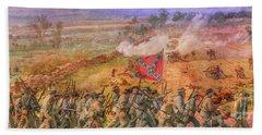 Rebel Yell Gettysburg Beach Towel