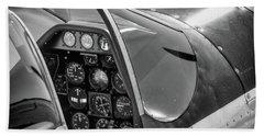 Rebel's Saddle- 2017 Christopher Buff, Www.aviationbuff.com Beach Towel