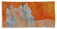 Reciprocity Beach Towel by Jani Freimann
