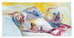 Reclining Study Beach Sheet