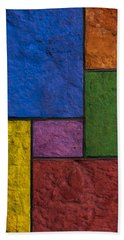 Rectangles Beach Sheet by Don Gradner