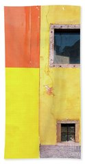 Beach Towel featuring the photograph Rectangles by Silvia Ganora
