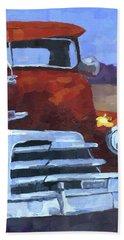 Red 1948 Chevy  Beach Sheet