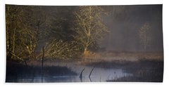 Red Alder Along Colewort Creek Beach Towel