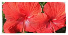 Red Beauties Beach Towel