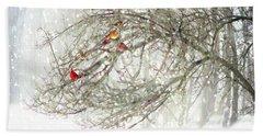 Red Bird Convention Beach Sheet