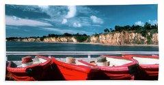 Red Boat Diaries Beach Sheet