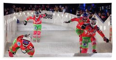 Red Bull Crashed Ice St Paul Beach Towel