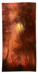 Red Dawn Ridgefield Refuge Beach Towel