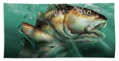 Red Drum Beach Towel