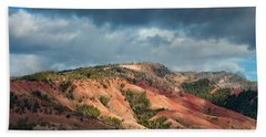 Red Hills Landscape Beach Towel