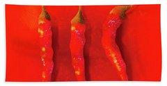 Red Hot Chili Pepper II Beach Towel