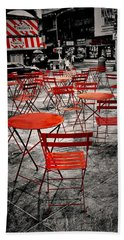 Red In My World - New York City Beach Sheet