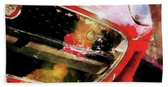 Red Jag Beach Towel by Robert Smith