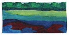Red Lake Beach Towel