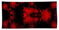 Red Lake Cave Fractal Beach Sheet