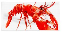 Red Lobster Beach Towel
