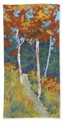 Red Mountain Aspens Beach Towel