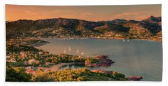 Red Mountains Beach Towel