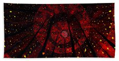 Red October Beach Towel